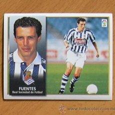 Cromos de Fútbol: REAL SOCIEDAD - FUENTES - EDICIONES ESTE 1998-1999, 98-99 - NUNCA PEGADO. Lote 35774109