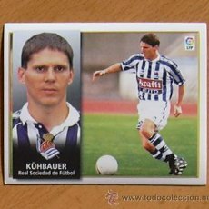 Cromos de Fútbol: REAL SOCIEDAD - KÜHBAUER - EDICIONES ESTE 1998-1999, 98-99 - NUNCA PEGADO. Lote 35774160
