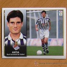 Cromos de Fútbol: REAL SOCIEDAD - ANTIA - EDICIONES ESTE 1998-1999, 98-99 - NUNCA PEGADO. Lote 35774263