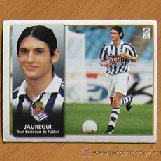 Cromos de Fútbol: REAL SOCIEDAD - JAÚREGUI - EDICIONES ESTE 1998-1999, 98-99 - NUNCA PEGADO. Lote 35774318