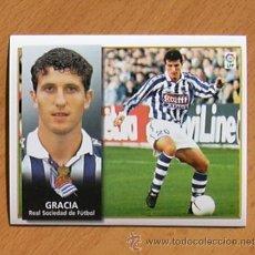 Cromos de Fútbol: REAL SOCIEDAD - GRACIA - EDICIONES ESTE 1998-1999, 98-99 - NUNCA PEGADO. Lote 35774350