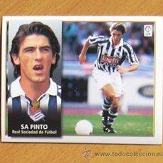 Cromos de Fútbol: REAL SOCIEDAD - SA PINTO - EDICIONES ESTE 1998-1999, 98-99 - NUNCA PEGADO. Lote 35774746
