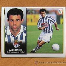 Cromos de Fútbol: REAL SOCIEDAD - ALDEONDO - EDICIONES ESTE 1998-1999, 98-99 - NUNCA PEGADO. Lote 35774779