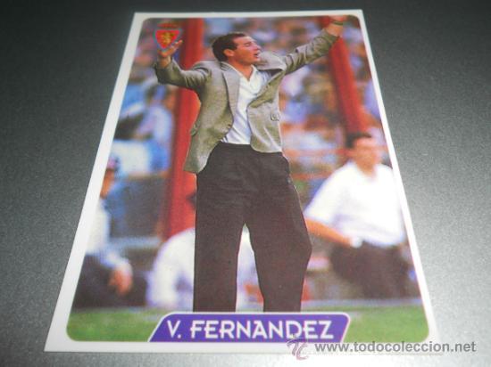 110 VICTOR V. FERNANDEZ ZARAGOZA CROMOS ALBUM MUNDICROMO LIGA FUTBOL 1995 1996 95 96 (Coleccionismo Deportivo - Álbumes y Cromos de Deportes - Cromos de Fútbol)