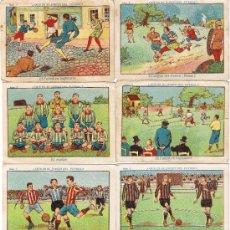 Cromos de Fútbol: LOTE 17 CROMOS - QUÉ ES EL JUEGO DEL FUTBOL - OPCIÓN VENTA UNIDAD - DESCRIPCIÓN - FOTO ADICIONAL . Lote 38829295