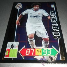Cromos de Futebol: 438 MARCELO SUPER CRACK REAL MADRID CROMOS ADRENALYN XL LIGA 2012 2013 12 13 PANINI. Lote 226052875
