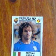 Cromos de Futebol: ANTONIO CABRINI, ITALIA, Nº 43, ESPAÑA 82 1982 FIGURINE PANINI, NARANJITO. Lote 36034117