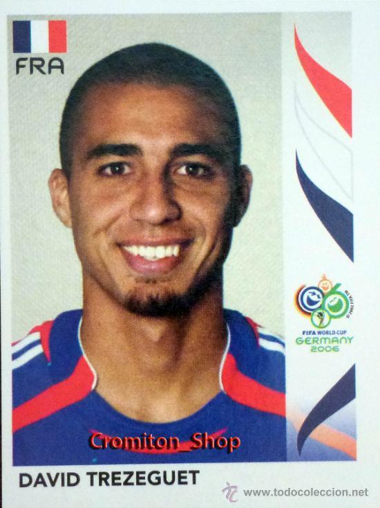 40 Panini Copa del Mundo Corea//Japón 2002-David Trezeguet Francia no