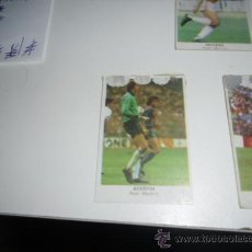 Cromos de Fútbol: CROMOS CANO 84 DESPEGADO DE ALBUM REAL MADRID AGUSTIN. Lote 36062059