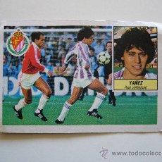 Cromos de Fútbol: CROMO LIGA 84 85 YAÑEZ REAL VALLADOLID EDICIONES ESTE 1984 1985. Lote 36062766