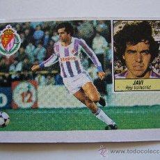 Cromos de Fútbol: CROMO LIGA 84 85 JAVI REAL VALLADOLID EDICIONES ESTE 1984 1985. Lote 36062784