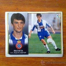 Cromos de Fútbol: PACHETA, ESPANYOL, LIGA 98 99 ESTE 1998 1999. Lote 36065005