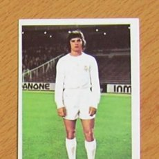 Cromos de Fútbol: REAL MADRID - CAMACHO - EDITORIAL FHER 1975-1976, 75-76 - NUNCA PEGADO. Lote 36084554