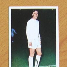Cromos de Fútbol: REAL MADRID - DEL BOSQUE - EDITORIAL FHER 1975-1976, 75-76 - NUNCA PEGADO. Lote 40473212