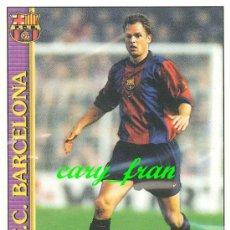 Cromos de Fútbol: MUNDICROMO 99 00 1999 2000 BARCELONA FRANK DE BOER . Lote 36125538