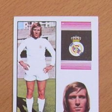 Cartes à collectionner de Football: REAL MADRID - NETZER - EDITORIAL FHER 1974-1975, 74-75 - NUNCA PEGADO. Lote 36123828