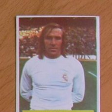 Cartes à collectionner de Football: REAL MADRID - NETZER - EDITORIAL FINI MA 1975-1976, 75-76 - NUNCA PEGADO. Lote 36164244
