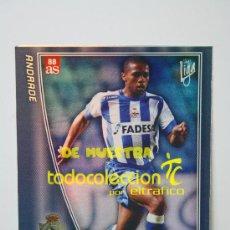 Cromos de Fútbol: MUNDICROMO FICHAS LIGA 2005/2006 Nº 199 ANDRADE - R.C. DEPORTIVO, CROMOS. Lote 36220944