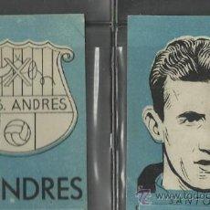 Cromos de Fútbol: C.D.S. ANDRES - COLECCION 12 CROMOS AÑOS 50 - VER FOTO - (CD-102). Lote 36279576