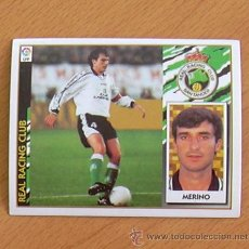 Cromos de Fútbol: RÁCING DE SANTANDER - MERINO - EDICIONES ESTE 1997-1998, 97-98 - NUNCA PEGADO. Lote 36304560