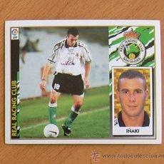 Cromos de Fútbol: RÁCING DE SANTANDER - IÑAKI - EDICIONES ESTE 1997-1998, 97-98 - NUNCA PEGADO. Lote 36304587
