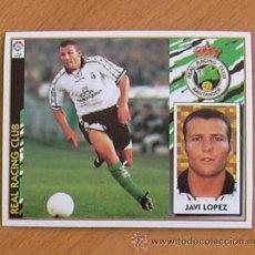 Cromos de Fútbol: RÁCING DE SANTANDER - JAVI LÓPEZ - EDICIONES ESTE 1997-1998, 97-98 - NUNCA PEGADO. Lote 36304601