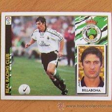 Cromos de Fútbol: RÁCING DE SANTANDER - BILLABONA - EDICIONES ESTE 1997-1998, 97-98 - NUNCA PEGADO. Lote 36304645