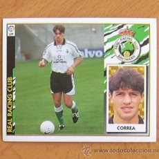 Cromos de Fútbol: RÁCING DE SANTANDER - CORREA - EDICIONES ESTE 1997-1998, 97-98 - NUNCA PEGADO. Lote 36304684