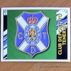 Cromos de Fútbol: TENERIFE - ESCUDO - EDICIONES ESTE 1997-1998, 97-98 - NUNCA PEGADO. Lote 54701298