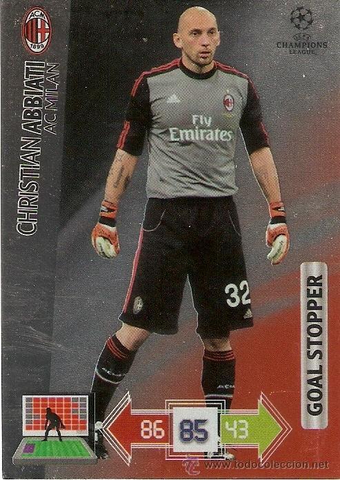 Panini calcio tarjetas 1999-2000 Milan Abbiati No.4