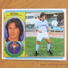 Cromos de Fútbol: CELTA - DUTUEL - EDICIONES ESTE 1996-1997, 96-97 - NUNCA PEGADO. Lote 36356479