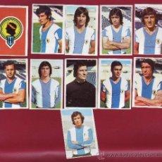 Cromos de Fútbol: RUIROMER - CAMPEONATO NACIONAL DE FUTBOL 1976-1977 - LOTE DE 11 CROMOS HERCULES. Lote 36412891