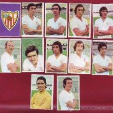 Cromos de Fútbol: RUIROMER - CAMPEONATO NACIONAL DE FUTBOL 1976-1977 - LOTE DE 12 CROMOS SEVILLA. Lote 36412945