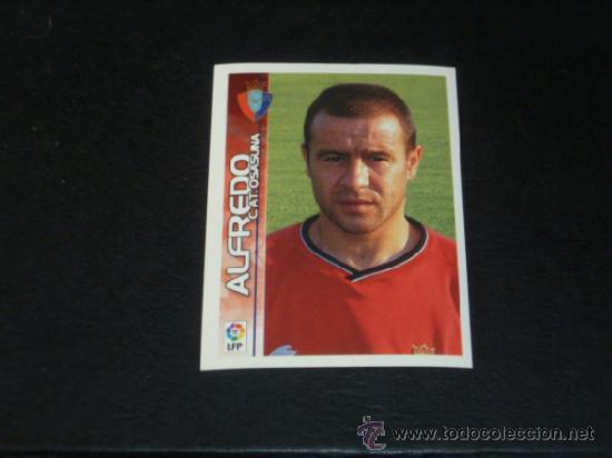 SUPERLIGA 2003/2004 - PANINI - 295 ALFREDO - AT. OSASUNA - 03 04 - (Coleccionismo Deportivo - Álbumes y Cromos de Deportes - Cromos de Fútbol)