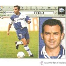 Cromos de Fútbol: PABLO.............ESTE. Lote 36510985