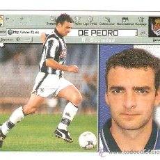 Cromos de Fútbol: DE PEDRO.........ESTE. Lote 36511446