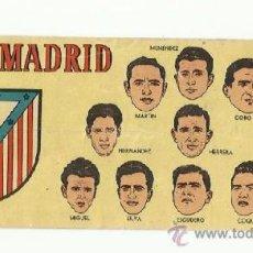 Cromos de Fútbol: CROMO BATANGA CLUB ATLETICO DE MADRID 1953-1954.. Lote 36610945