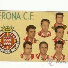 Cromos de Fútbol: CROMO BATANGA GIRONA CLUB DE FUTBOL 1954-1955.. Lote 36612343