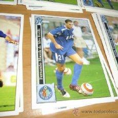 Cromos de Fútbol: MUNDICROMO 2005 2006 FICHA EN GETAFE NANO. Lote 237081715
