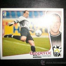 Cromos de Fútbol: GASPERCIC DEL ALBACETE ALBUM ESTE LIGA 2004 - 2005 ( 04 - 05 ). Lote 194524401