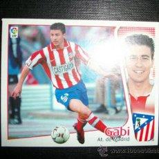 Cromos de Fútbol: GABI DEL ATLETICO DE MADRID ALBUM ESTE LIGA 2004 - 2005 ( 04 - 05 ). Lote 194526417