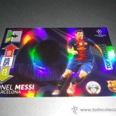 Cromos de Fútbol - TOP MASTER LIONEL MESSI F.C. BARCELONA CROMOS ADRENALYN XL CHAMPIONS LEAGUE 2012 2013 12 13 - 36749584