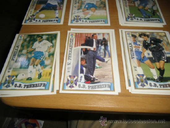 1997 1998 97 98 MUNDICROMO TENERIFE Nº 172 V. FERNANDEZ (Coleccionismo Deportivo - Álbumes y Cromos de Deportes - Cromos de Fútbol)