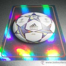 Cromos de Futebol: 3 LOGO BALON ADIDAS DE LA FINAL CAMPEONES CROMOS UEFA CHAMPIONS LEAGUE 2011 2012 11 12 PANINI. Lote 36947265