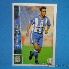 Cromos de Fútbol: FICHAS LIGA 2002 - 2003 - 665 + PABLO AMO DEPORTIVO DE LA CORUÑA. Lote 37256686