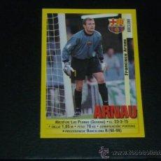 Cromos de Fútbol: PANINI LIGA 1999 2000 - 19 ARNAU - FC. BARCELONA - 99 00 -. Lote 172255249