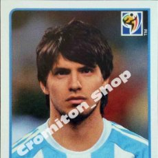 Figurine di Calcio: Nº 121 SERGIO AGÜERO MUNDIAL SOUTH AFRICA 2010 WORLD CUP 10 PANINI. Lote 254624990
