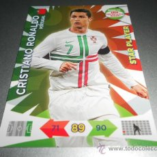 Cromos de Fútbol: CRISTIANO RONALDO STAR PLAYER PORTUGAL CROMOS ADRENALYN ROAD TO 2014 WORLD CUP BRAZIL BRASIL 14. Lote 37146453