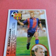 Cromos de Fútbol - 365 - ESCAICH (FC BARCELONA) - CROMO FICHAJE PANINI LIGA 94-95 - FUTBOL 1994/1995 - - 37152748