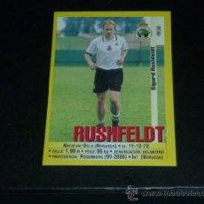 Cromos de Fútbol: PANINI LIGA 1999 2000 - 283A RUSHFELDT - R. RACING CLUB SANTANDER - 99 00 -. Lote 115402266